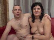 Calista et son homme pour la première fois