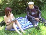Lisa Candy baisée par un vieux pervers