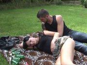 Sexe en extérieur pour Natacha Guapa