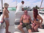 Plan libertin sur un bateau avec Guy et Barbara