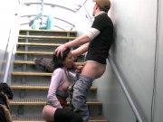 Plan cul sur une péniche avec Tania Kiss