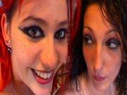 Sabrina Sweet, Angels Sydney baisées dans la caravane