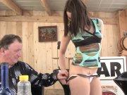 La premier porno amateur de Melyne Leone